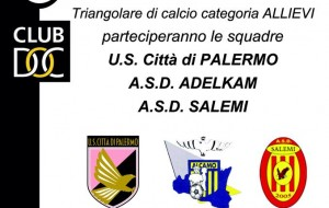 "Salemi, al via il memorial ""Andrea Marrone"" dello Juventus Club di Salemi"